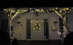 led girlande grun 27m 5m 10m 15m 20m tannengirlande mit With garten planen mit weihnachtsbeleuchtung außen für balkon