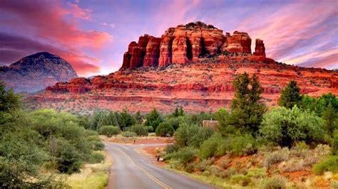 fly drive scenario  sedona arizona united states