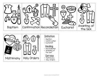sacraments mini book  sara  creations tpt