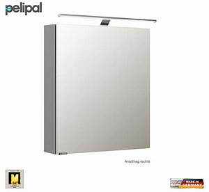 Spiegelschrank 60 Cm Led : pelipal neutraler spiegelschrank s5 60 cm mit led aufbauleuchte impulsbad ~ Bigdaddyawards.com Haus und Dekorationen
