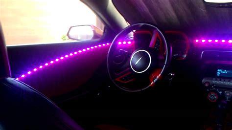 camaro dream color interior lighting youtube