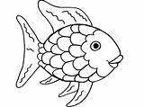 Trout Coloring Pages Rainbow Printable Getcolorings sketch template