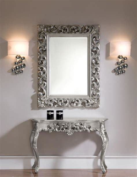 modern console table with mirror excellent solution to accent home with modern console table and mirror trends4us com
