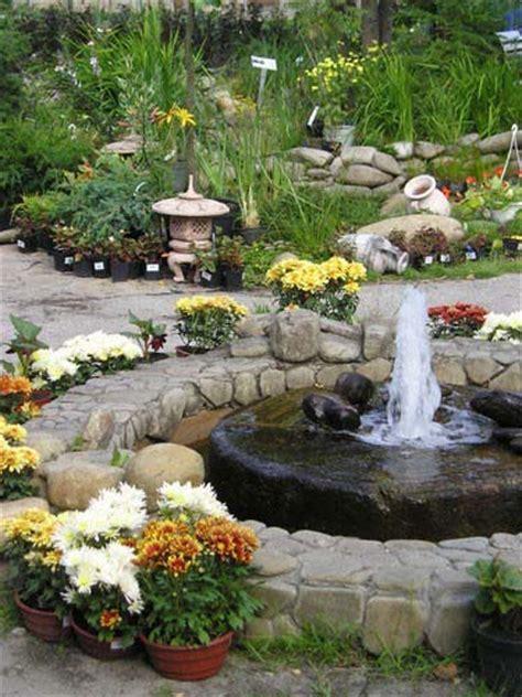 water fountains front yard  backyard designs