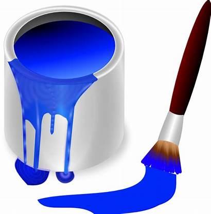 Paint Brush Clip Clipart Clker Royalty