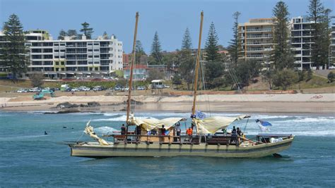 Boat R Port Macquarie by Polynesian Boats Finally Arrive In Port Macquarie Port