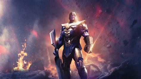 avengers endgame thanos  laptop full hd p