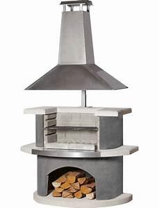 Cheminee Exterieur Bois : barbecue chemin e z rich buschbeck barbecues charbon de ~ Premium-room.com Idées de Décoration