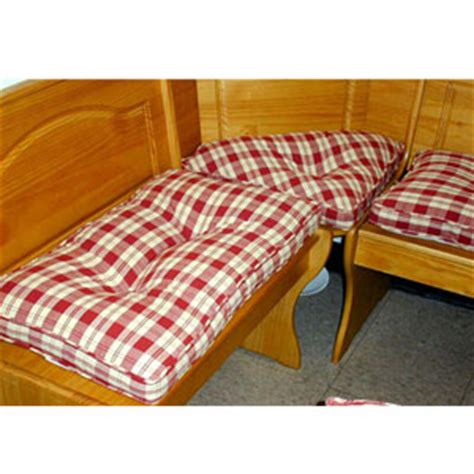 4pc Plaid Kitchen Nook Cushion Set 4314(ghffs)  More