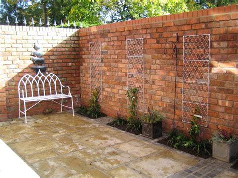 Garten Sichtschutz Mauern by Gartenmauer Aus Ziegelsteinen Selber Bauen Anleitung