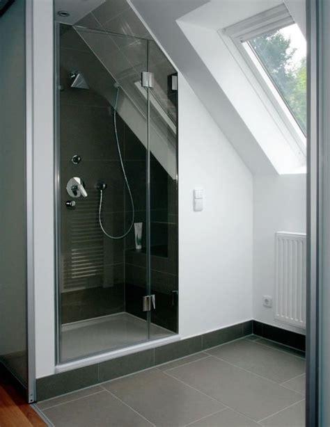 Dusche Unter Der Dachschräge  Wohnungsideen Pinterest