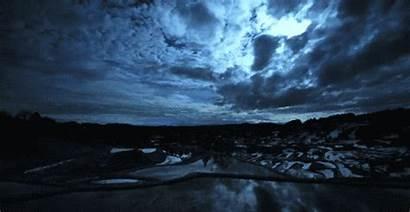 Landscape Gifs Nature Clouds Transparent Sky