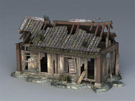 Broken House 3d model 3ds Max files free download