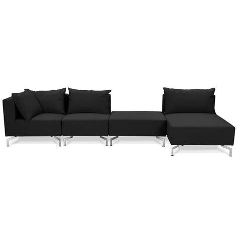 canap voltaire grand canapé d 39 angle voltaire xl noir canapé modulable