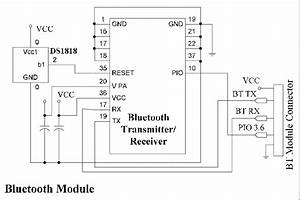 Circuit Diagram Of The Bluetooth Module