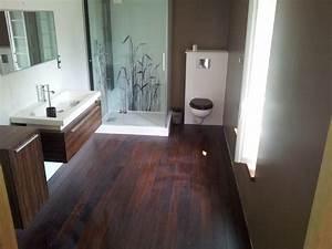 renovation With porte d entrée pvc avec parquet salle de bain pont de bateau