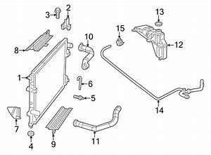 Chrysler 300 Radiator Coolant Hose  3 5  U0026 3 6 Liter  3 6