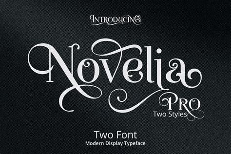 free lettering fonts novelia pro typeface befonts 21857