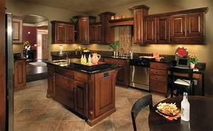 paint colors for kitchens with dark cabinets home living With best brand of paint for kitchen cabinets with wall art for brown furniture