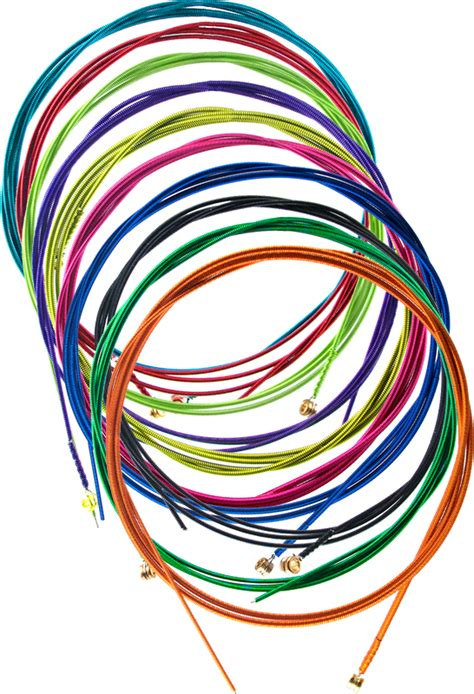 colored string bass guitar strings colored lified parts