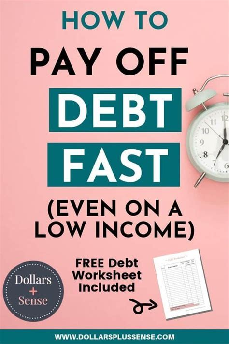 Low income credit cards have their benefits but also their drawbacks. How To Pay Debt Faster (Even If You Have No Money And A Low Income) | Debt payoff, Pay debt ...