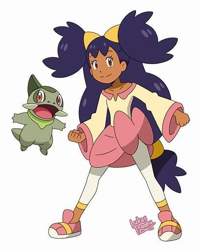 Pokemon Moon Sun Iris Anime Deviantart Dawn