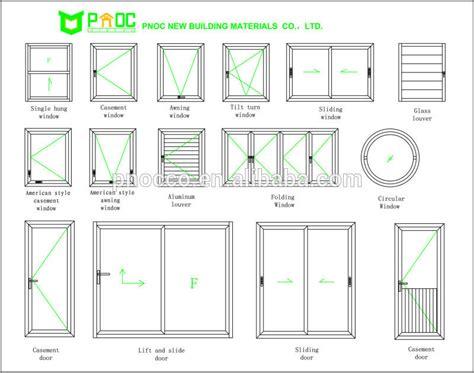 thermal break aluminum tilt  turn windowsmm single