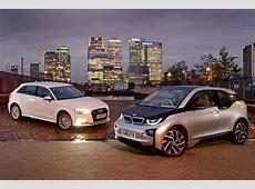 BMW i3 vs Audi A3 etron Auto Express