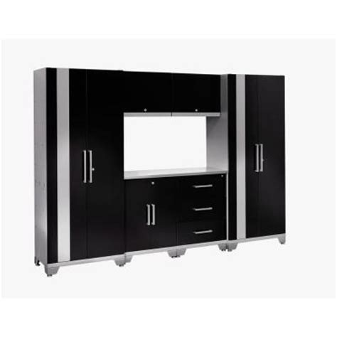 home depot metal cabinets newage products performance 75 in h x 108 in w x 18 in