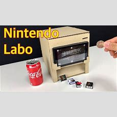 Check Out These Vending Machine And Violin Nintendo Labo Creations Nintendosoup