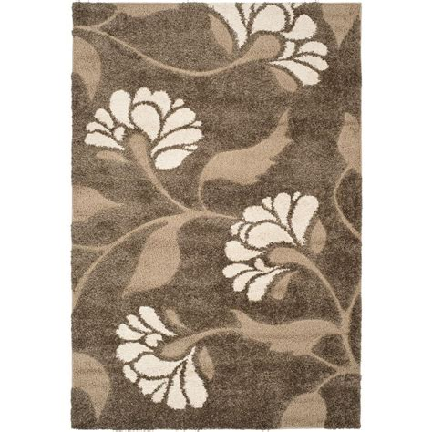 safavieh florida rug safavieh florida shag smoke beige 8 ft 6 in x 12 ft