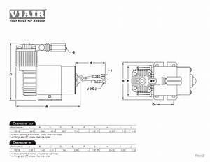 Viair 100c Chrome Air Compressor With Omega Bracket