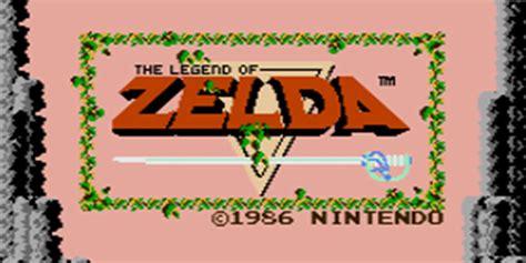 The Legend Of Zelda Nes Games Nintendo