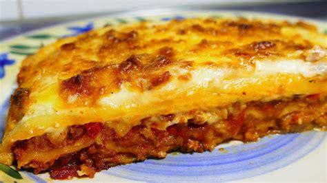 easy lasagna recipe  bechamel sauce tasty food