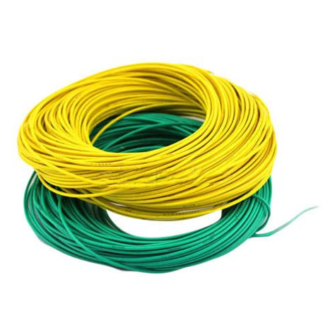 yellow and green 2 mm electric wire 450 750v rs 355 id 15511936191