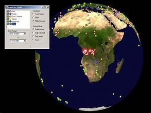 World Wind - MODIS