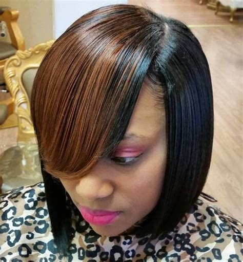 Sew In Weave Bob Hairstyles With Bangs by 20 Weave Hairstyles To Make Heads Turn