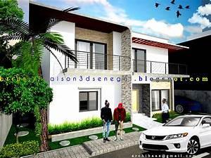 Moderne House 3d Senegal  Maison 3d Senegal  3d Design