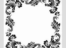 Delicate floral frames vector Vector Frames & Borders