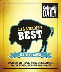 Cu  U0026 Boulder U2019s Best 2015 Choice Awards By Daily Camera