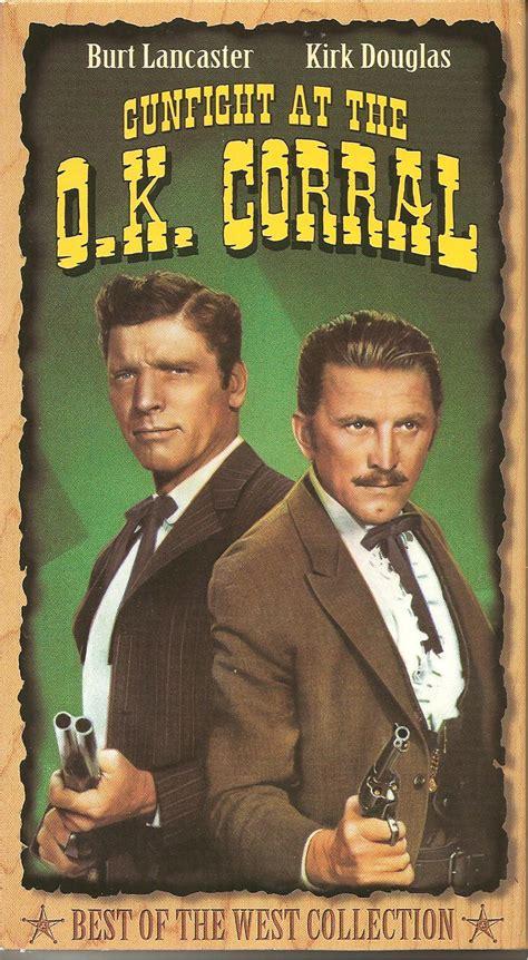 ok corral gunfight 1957 movie wyatt earp movies schuster