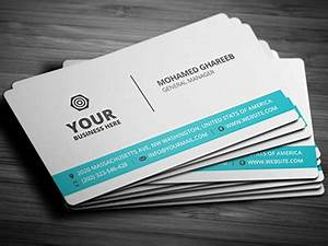 business card template psd free business template With business card presentation template psd