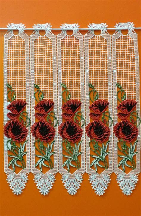 rideau macramé cuisine brise bise macrame pavot couleur aux voilages fr