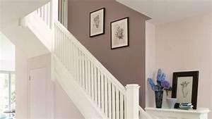 deco entree maison cage d39escalier et couloir en 30 idees With nice peindre un escalier en gris 3 escalier bois et blanc mzaol