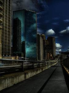 Future Street HDR by youwha on DeviantArt