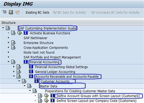 Accounts Receivable SAP Configuration Steps - SAP Training