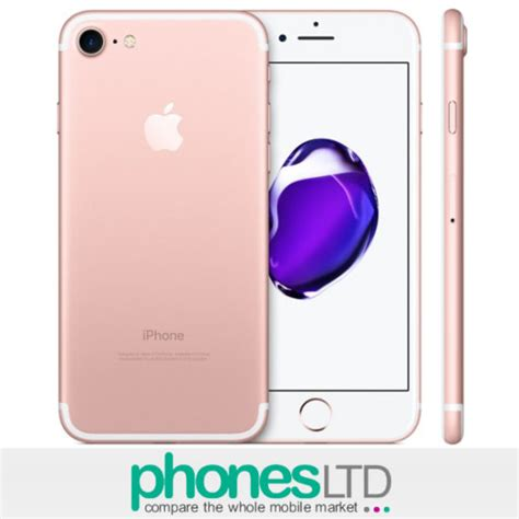 iPhone 7 Rose Gold 128GB Deals - Compare UK Prices for