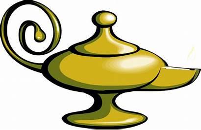 Lamp Magic Fire Clip Clker Clipart