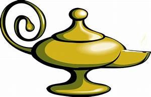Magic Lamp - No Fire Clip Art at Clker.com - vector clip ...