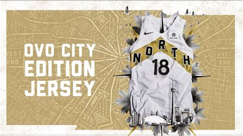 toronto raptors release ovo city edition jerseys